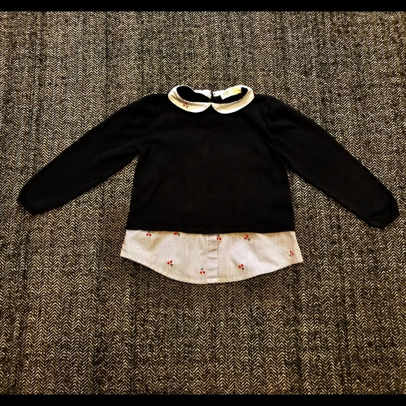 H&M navy sweater size 2-4T